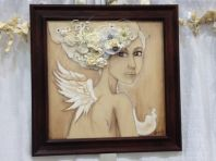 "Wing Art - ""Wedded Bliss""."
