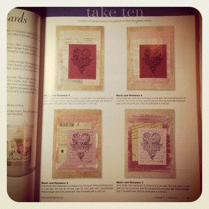 Art by Christine Barker published in Take Ten