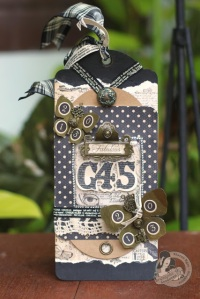 Graphic45 Sharon Ngoo Tag Staples