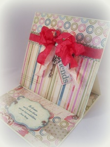 Friendship Card for Lovebug Creations by Dawn Rene Carlyle
