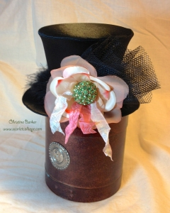 Lovebug Creations Irish Kiss Top Hat by Christine Barker 2