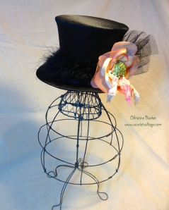 Lovebug Creations Irish Kiss Top Hat by Christine Barker 3