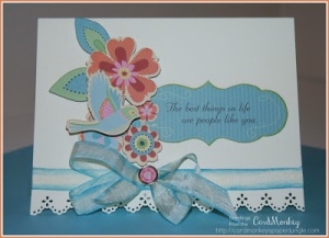 Best Things Card for Lovebug Creations by Ellen Cardmonkey Jarvis