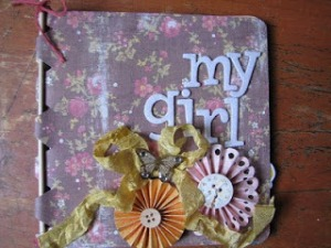 My Girl Mini Album for Lovebug Creations by Stephanie Eaken