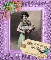 Spring is in the Air Tag Swap hosted by Julie Weller