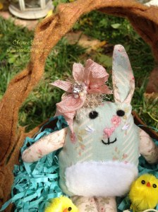 Scarlet Calliope Easter Bunny 1