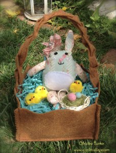 Scarlet Calliope Easter Bunny 2