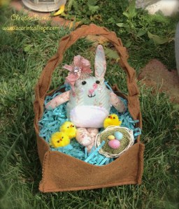 Scarlet Calliope Easter Bunny 4