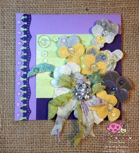 Scarlet Calliope Violets 1