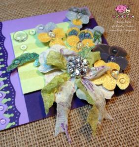 Scarlet Calliope Violets 2
