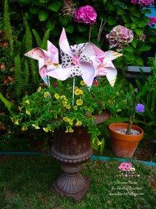 Scarlet Calliope pinwheel 1