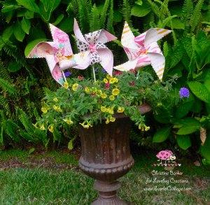 Scarlet Calliope pinwheel 3