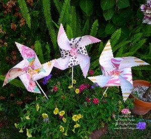 Scarlet Calliope pinwheel 4
