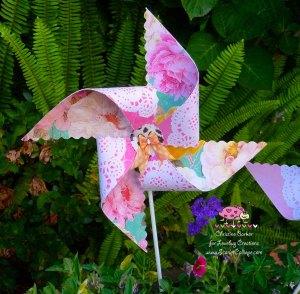 Scarlet Calliope pinwheel 5