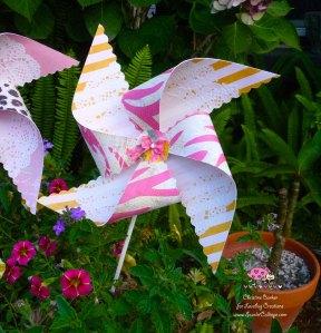 Scarlet Calliope pinwheel 6