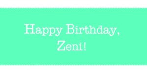 Birthday Zeni