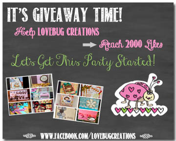 Lovebug Creations Giveaway
