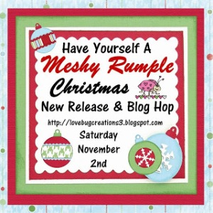Christmas hop button