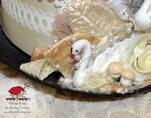 ScarletCalliope Swan Hat 1