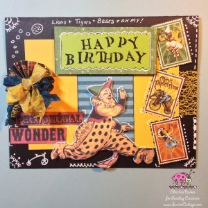 ScarletCalliope Happy Birthday Card Dawn Rene