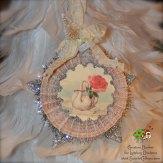 ScarletCalliope Vintage Christmas Ornament Swan 1