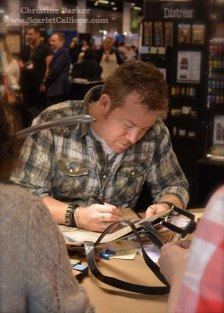 Tim Holtz signing bag