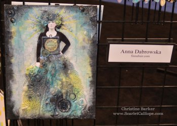 Anna Dabrowski mixed media