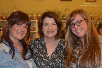 Julie, Kaari and me