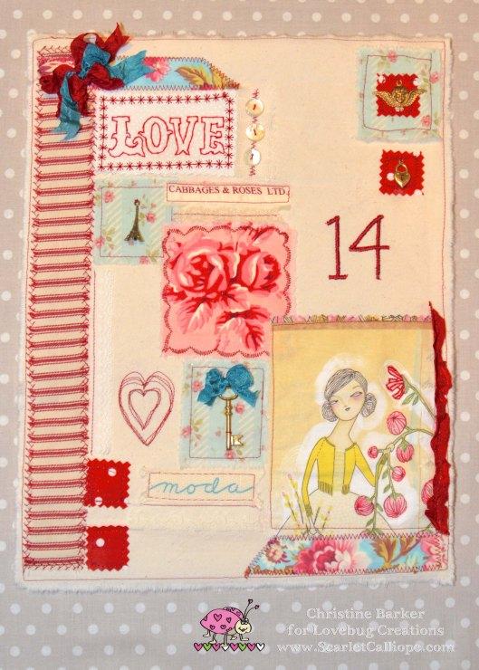 ScarletCalliope Mini Quilt 1