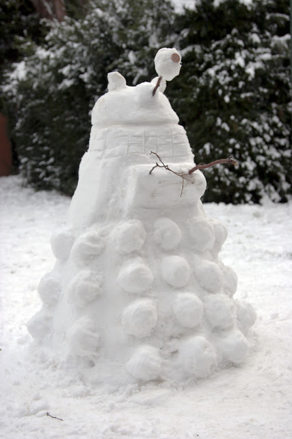 Snow Dalek - Steve Cotton