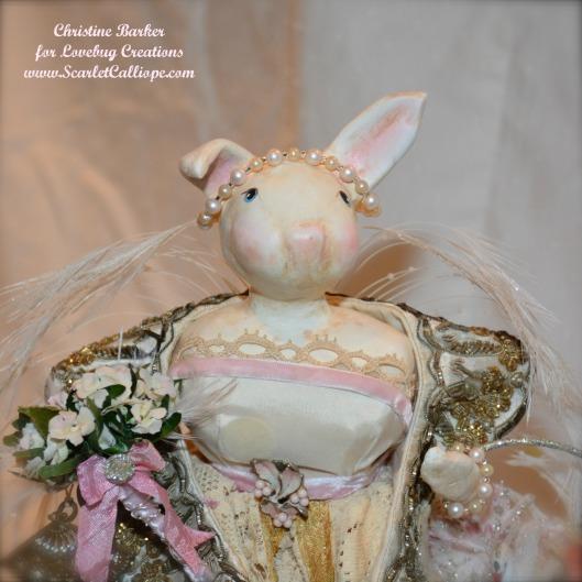 ScarletCalliope Bunny Boudoir Lamp 3